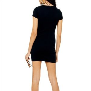 Topshop Dresses - NWT Topshop Ribbed Jersey Tunic